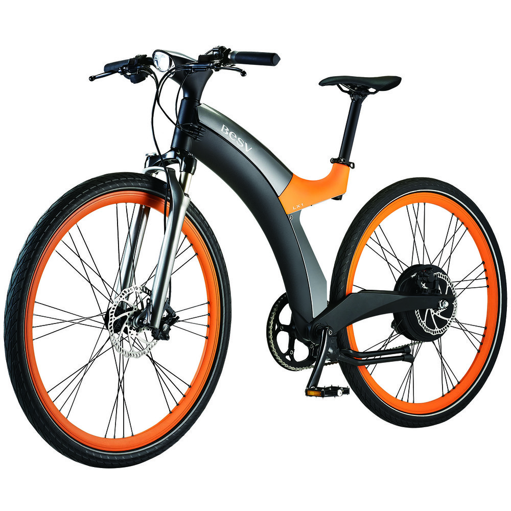 Электровелосипед BESV Lion LX1 оранжевый - фото 1