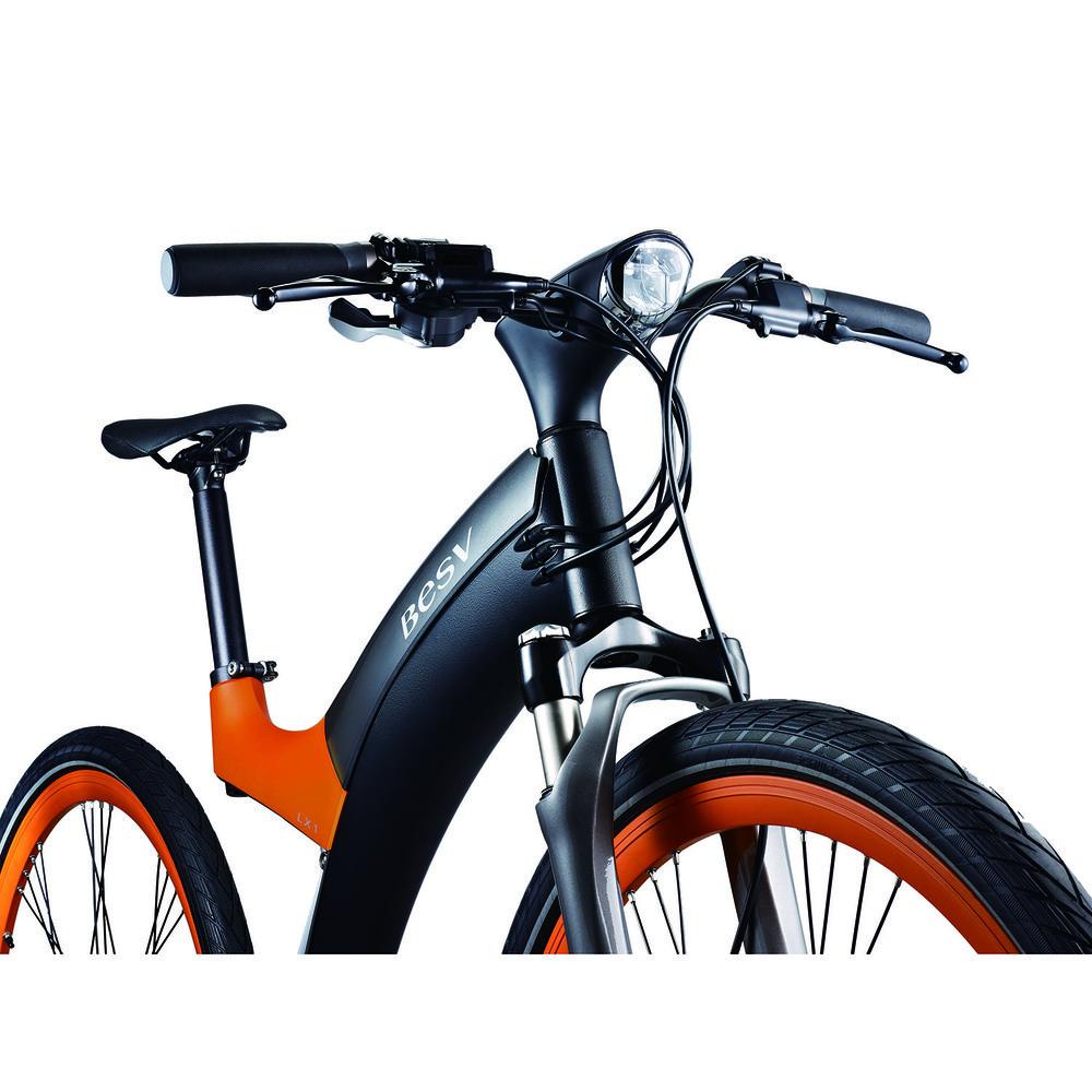 Электровелосипед BESV Lion LX1 оранжевый - фото 5