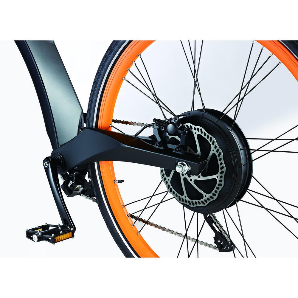 Электровелосипед BESV Lion LX1 оранжевый - фото 6
