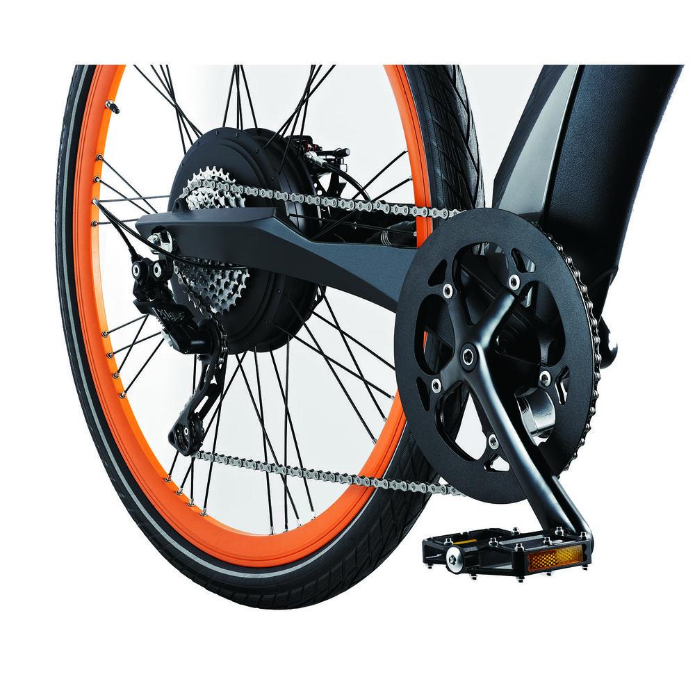 Электровелосипед BESV Lion LX1 оранжевый - фото 7