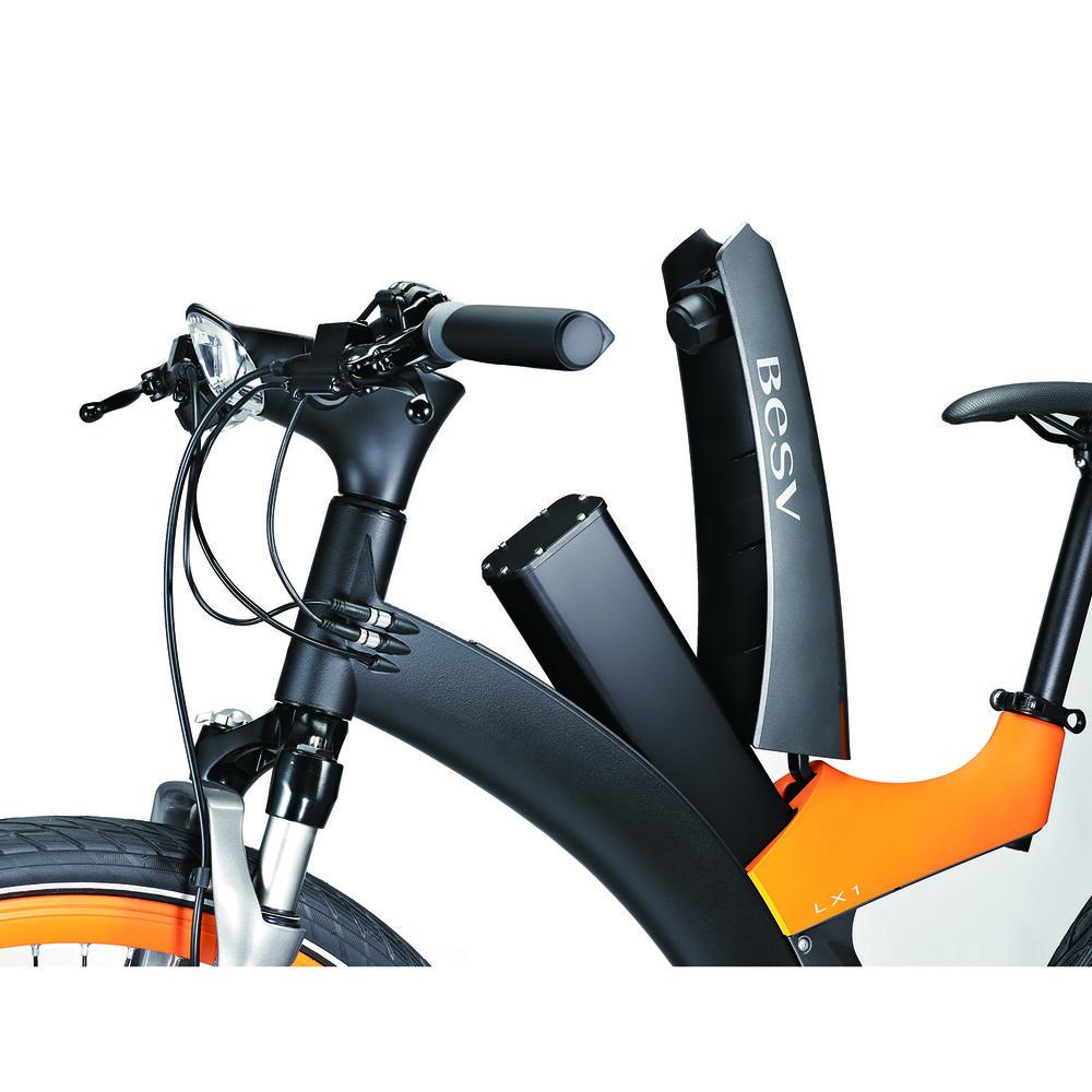 Электровелосипед BESV Lion LX1 оранжевый - фото 9