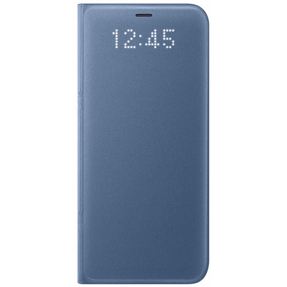 Чехол для смартфона Samsung LED View Cover Galaxy S8+, голубой (EF-NG955PLEGRU) - фото 1
