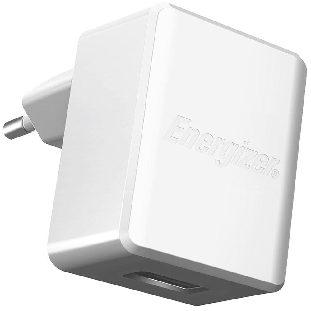 Зарядное устройство Energizer Classic 1 USB, 1A, White - фото 1