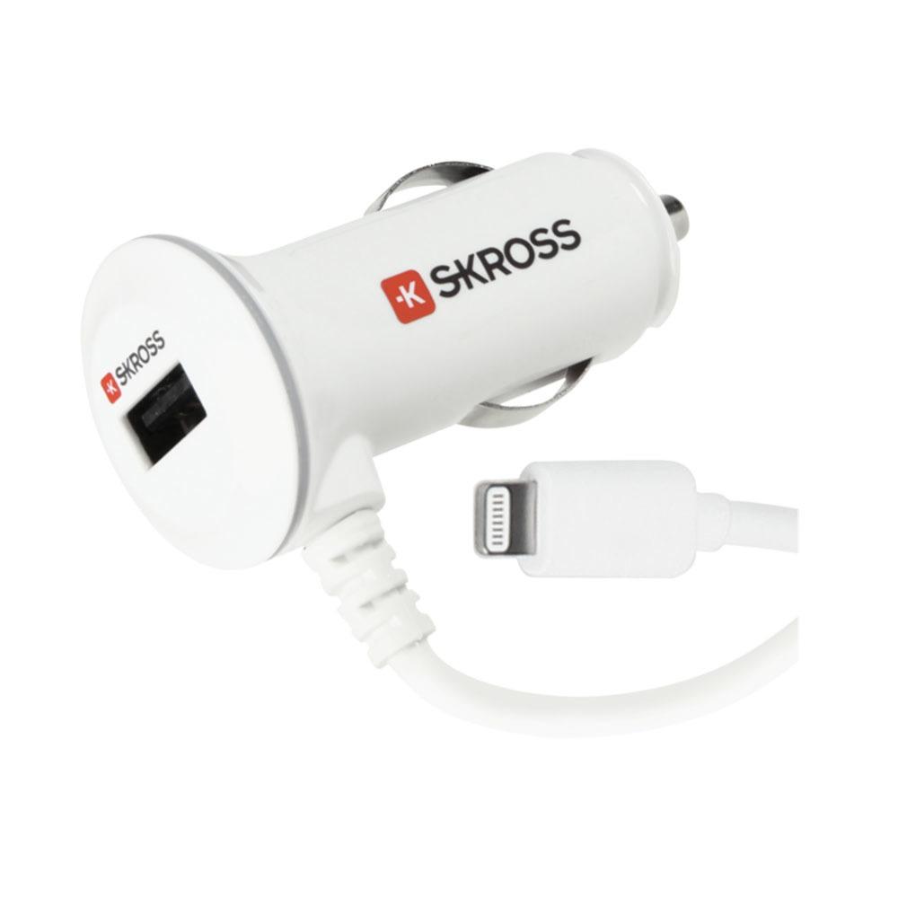 Автомобильное зарядное устройство Skross Midget Plus with Lightning Connector - фото 1