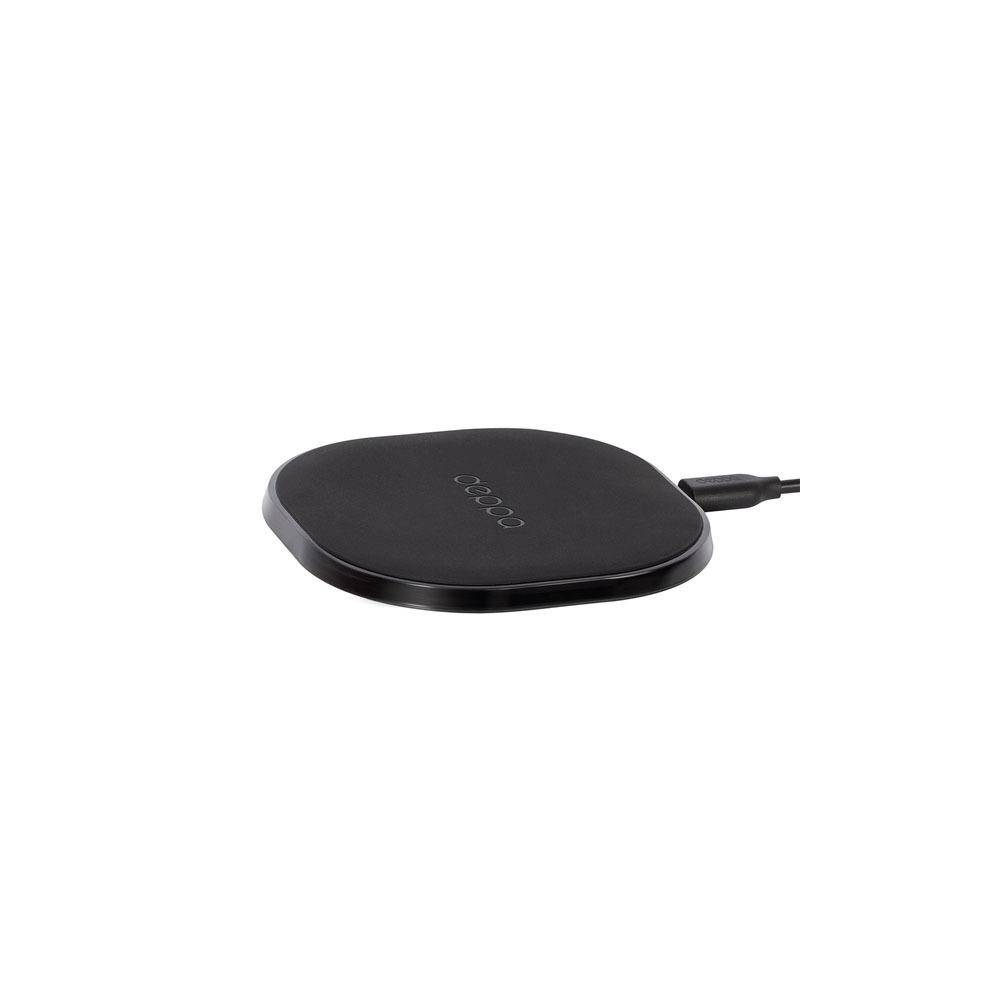 Беспроводное зарядное устройство Deppa Qi Fast Charger, черный (24000) - фото 1