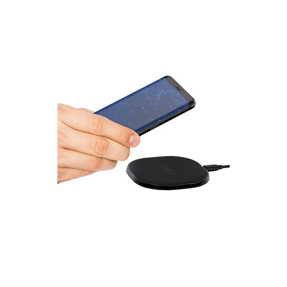 Беспроводное зарядное устройство Deppa Qi Fast Charger, черный (24000) - фото 3