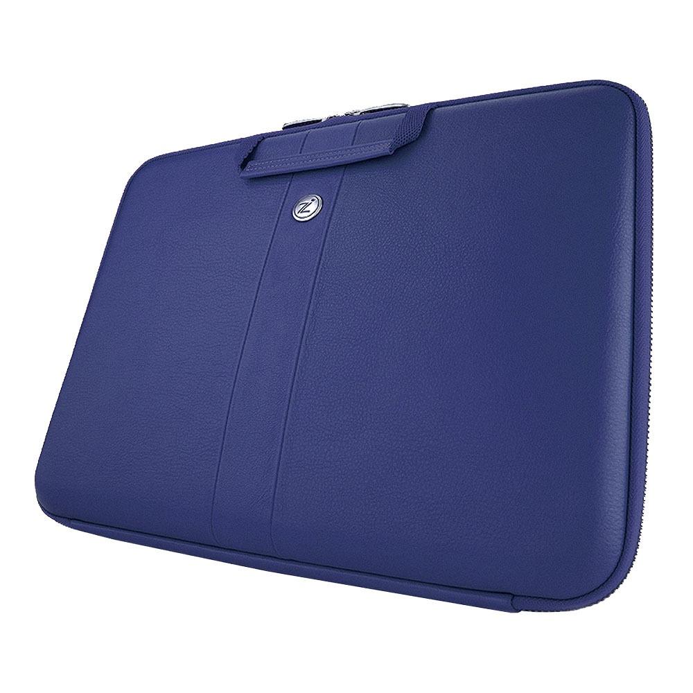 Сумка Smart Sleeve Navy Blue Leather - фото 1