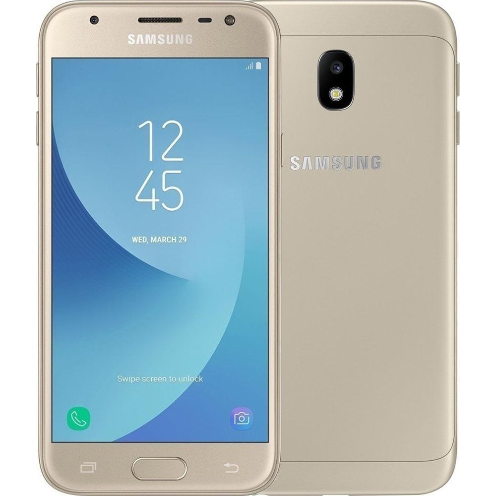 Смартфон Samsung Galaxy J3 SM-J330F DS золотой - фото 1