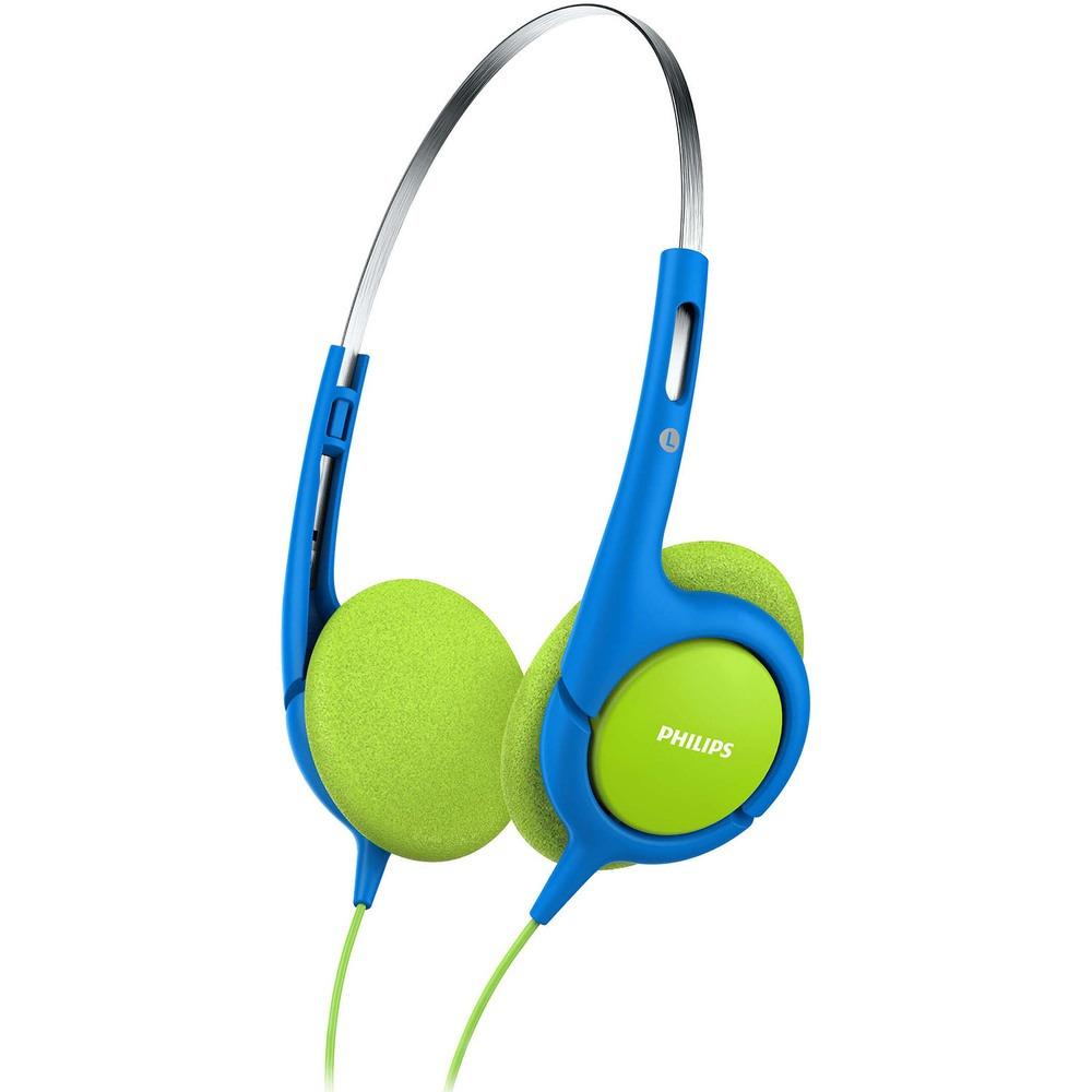 Наушники Philips SHK1030/00, синий/зелёный - фото 1