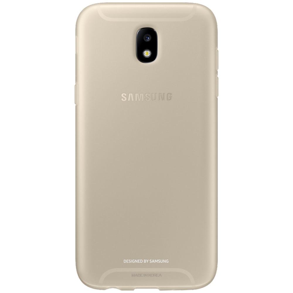 Чехол для смартфона Samsung Jelly Cover J530, gold (EF-AJ530) - фото 1