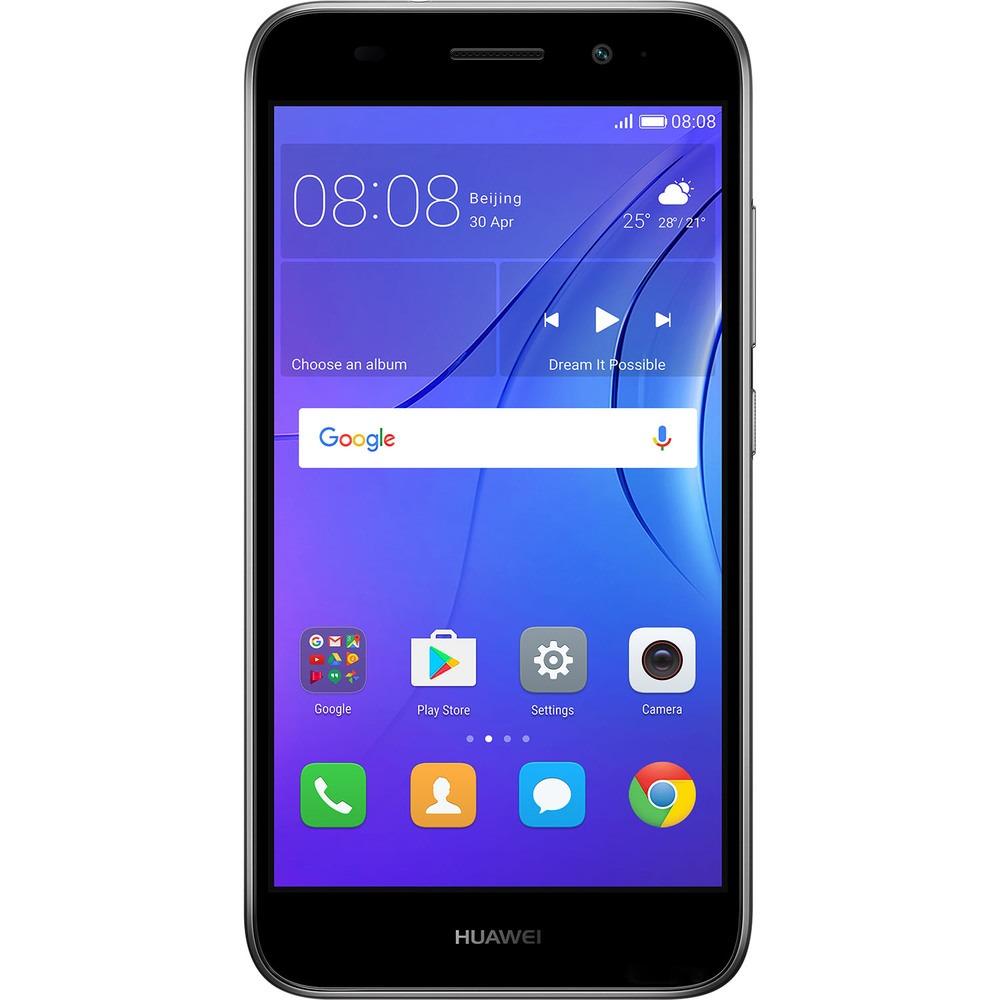 Смартфон Huawei Y3 2017 серый - фото 1