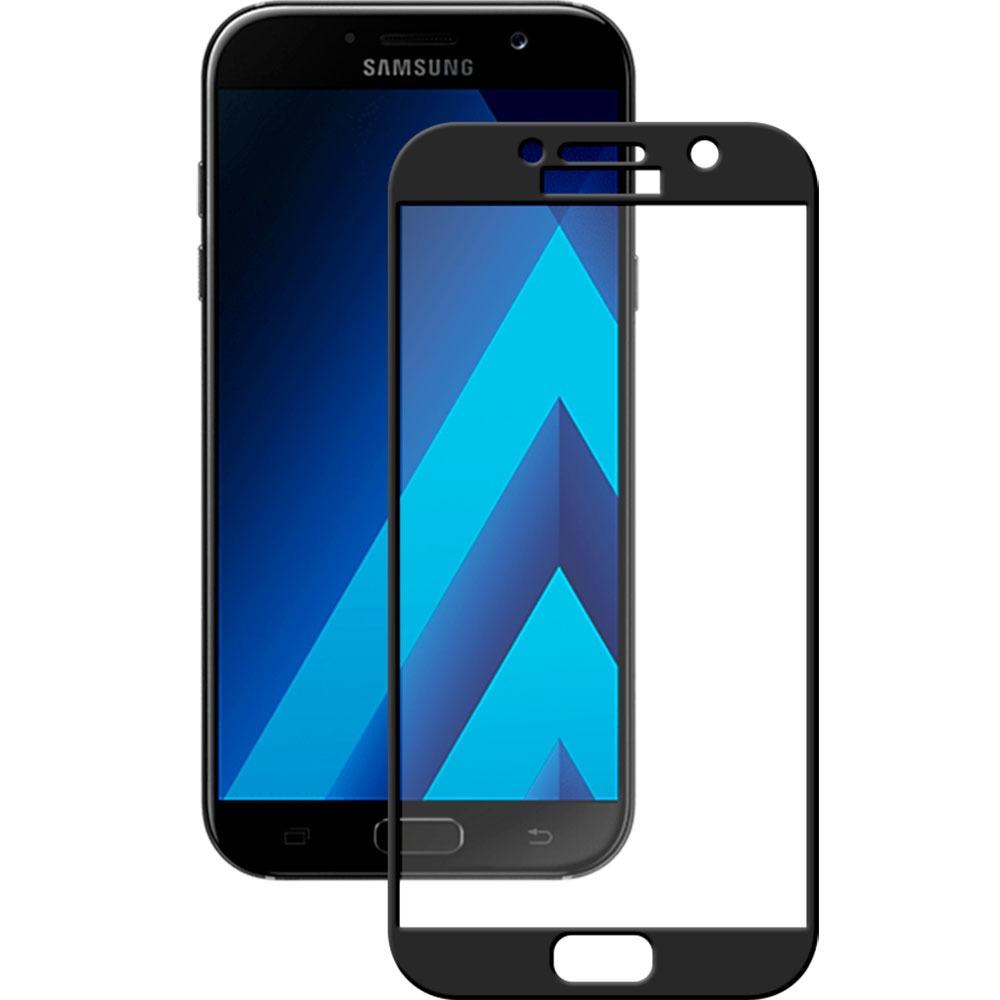 Защитное стекло Deppa 3D для Samsung Galaxy А3 (2017), черное - фото 1