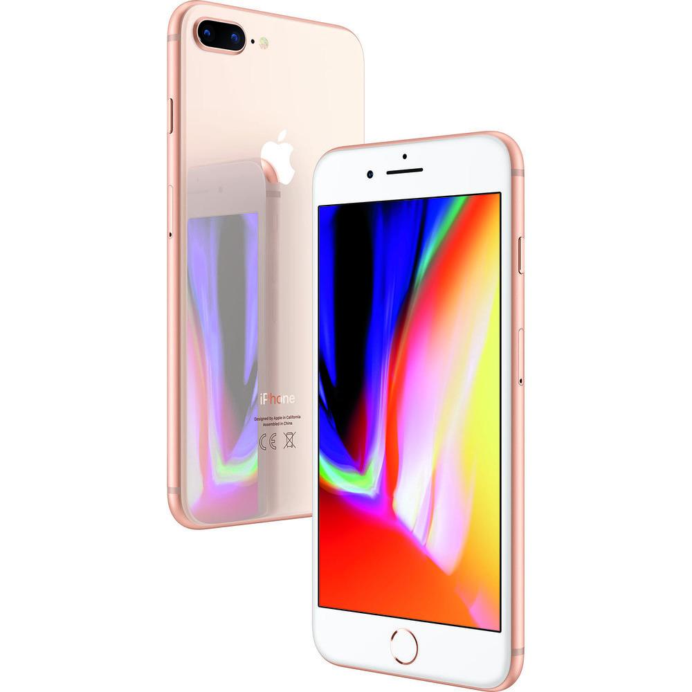 Смартфон Apple iPhone 8 Plus 128GB золотой - фото 5