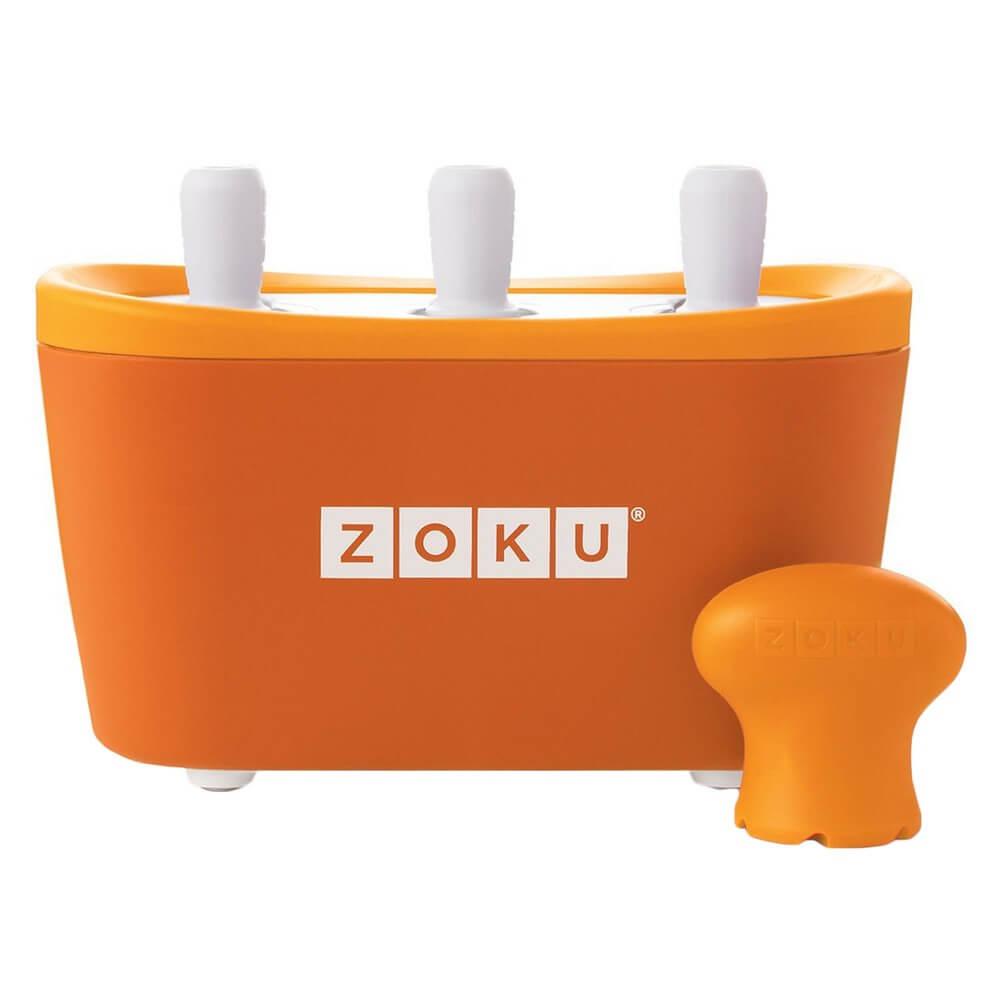 Мороженица Zoku Triple Quick Pop Maker ZK101-OR - фото 1