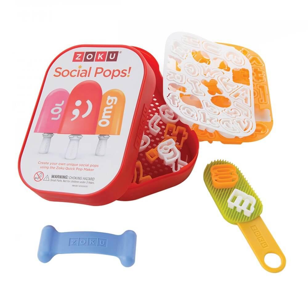 Набор для украшения мороженого Zoku Social Media Kit ZK112 - фото 1