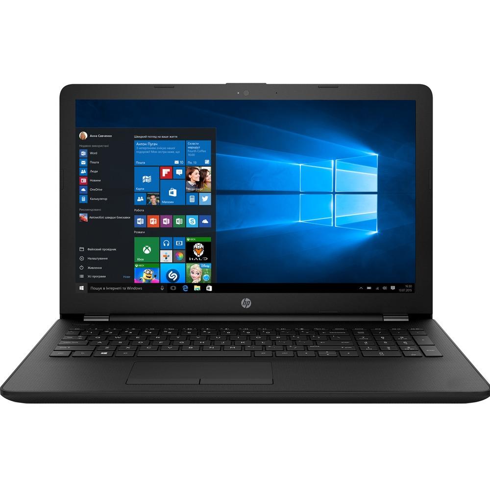 Ноутбук HP 15-bs019ur 1ZJ85EA черный - фото 1