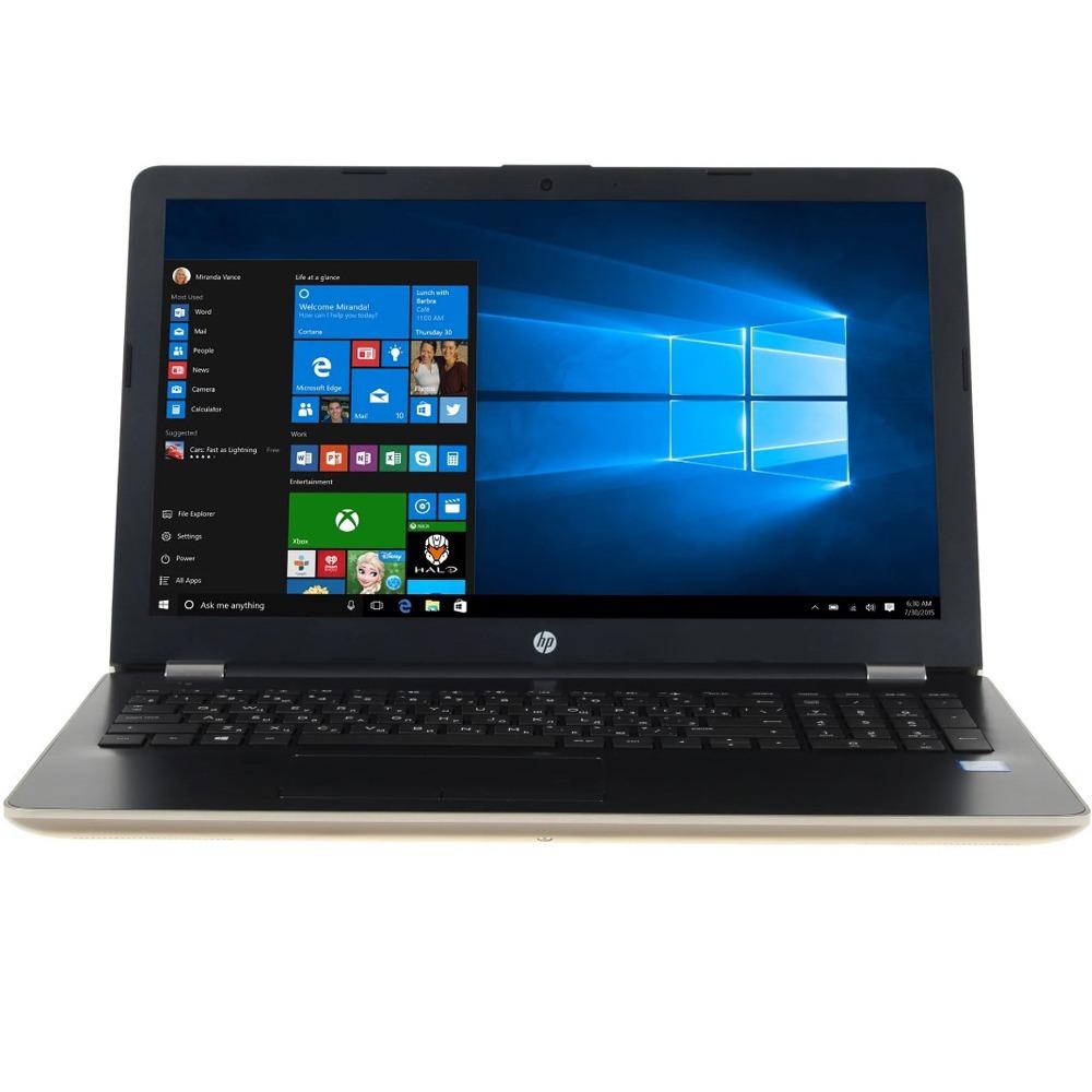 Ноутбук HP 15-bs055ur 1VH53EA золотистый - фото 1