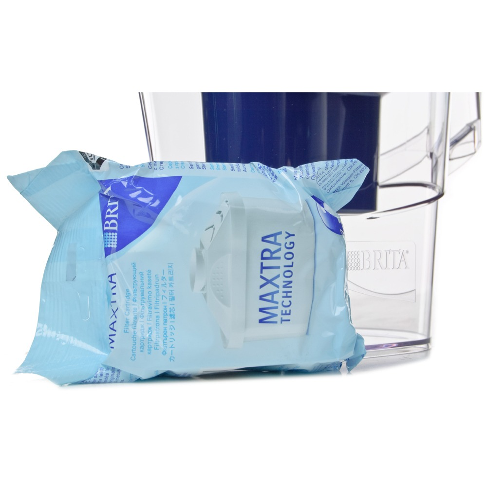 Фильтр для очистки воды Brita Maxtra Aluna XL 3.5 л синий - фото 4