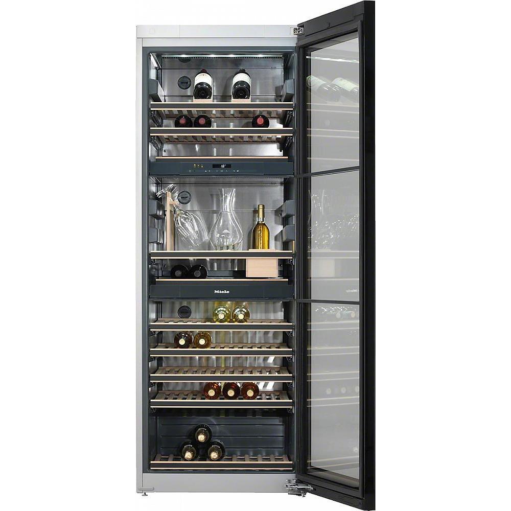 Винный шкаф Miele KWT6834SGS Нержавеющая сталь - фото 2