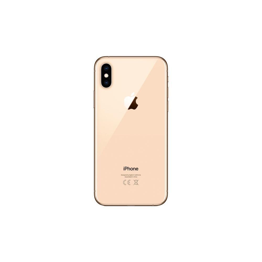 Смартфон Apple iPhone XS 64GB золотой - фото 3