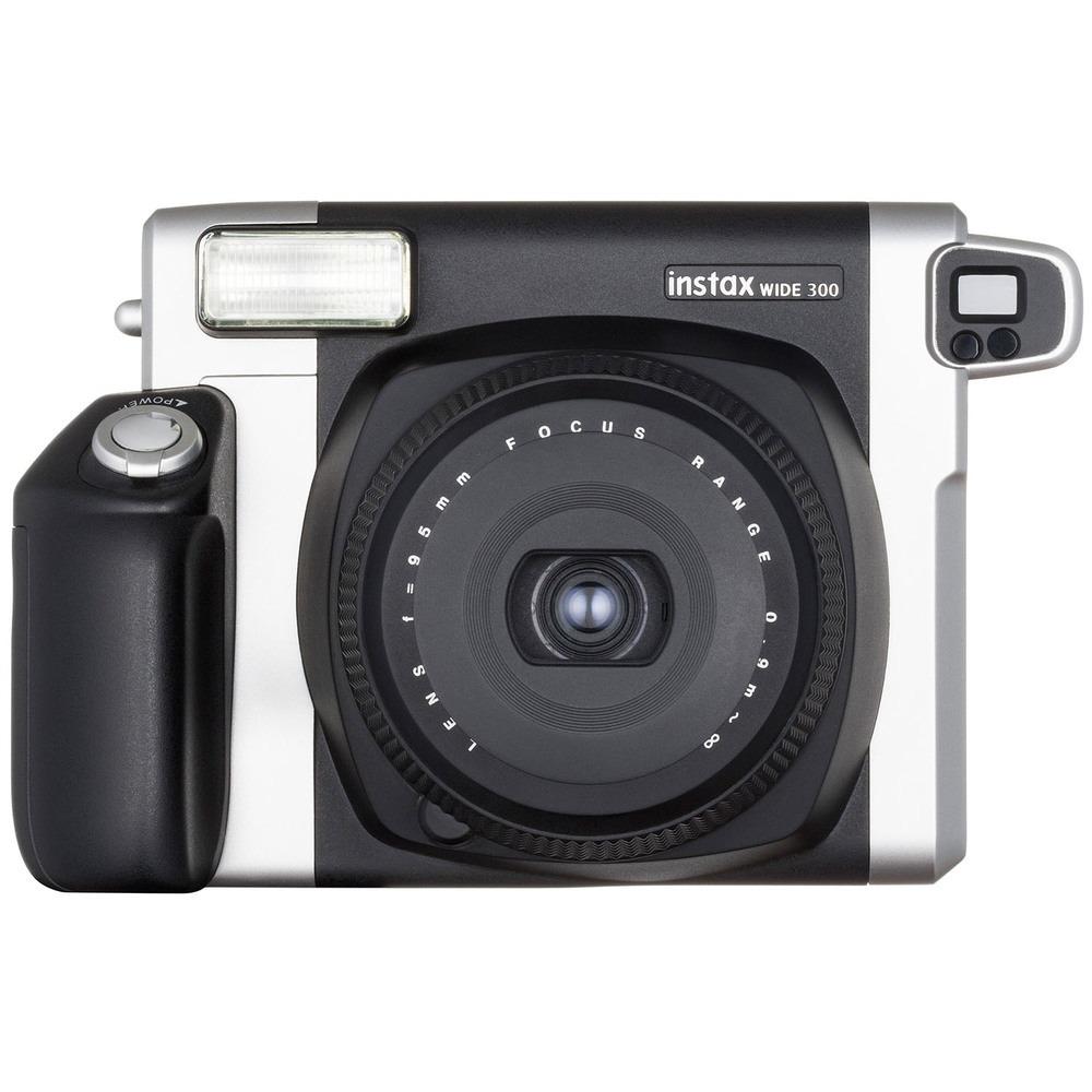 Фотоаппарат мгновенной печати Fujifilm Instax Wide 300 черный - фото 1