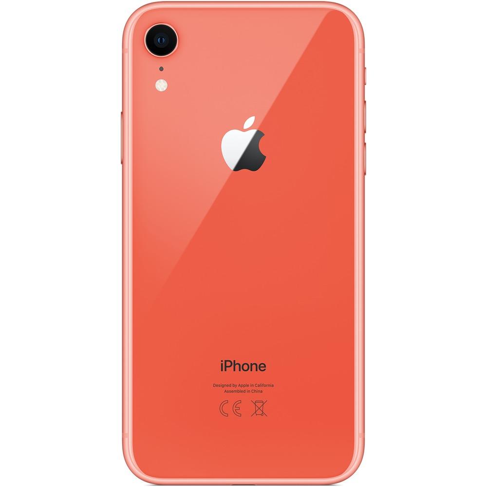 Смартфон Apple iPhone XR 128GB коралловый - фото 3
