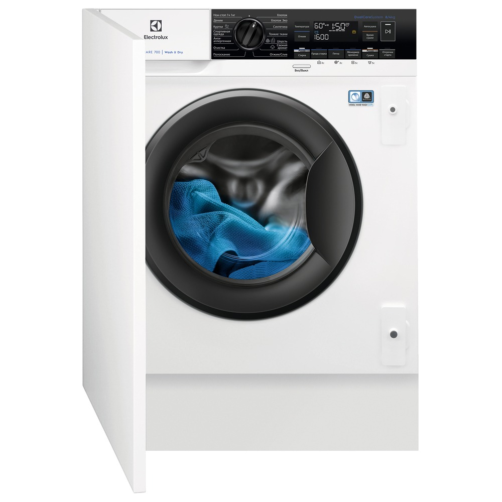 Встраиваемая стиральная машина Electrolux EW7W3R68SI PerfectCare - фото 1