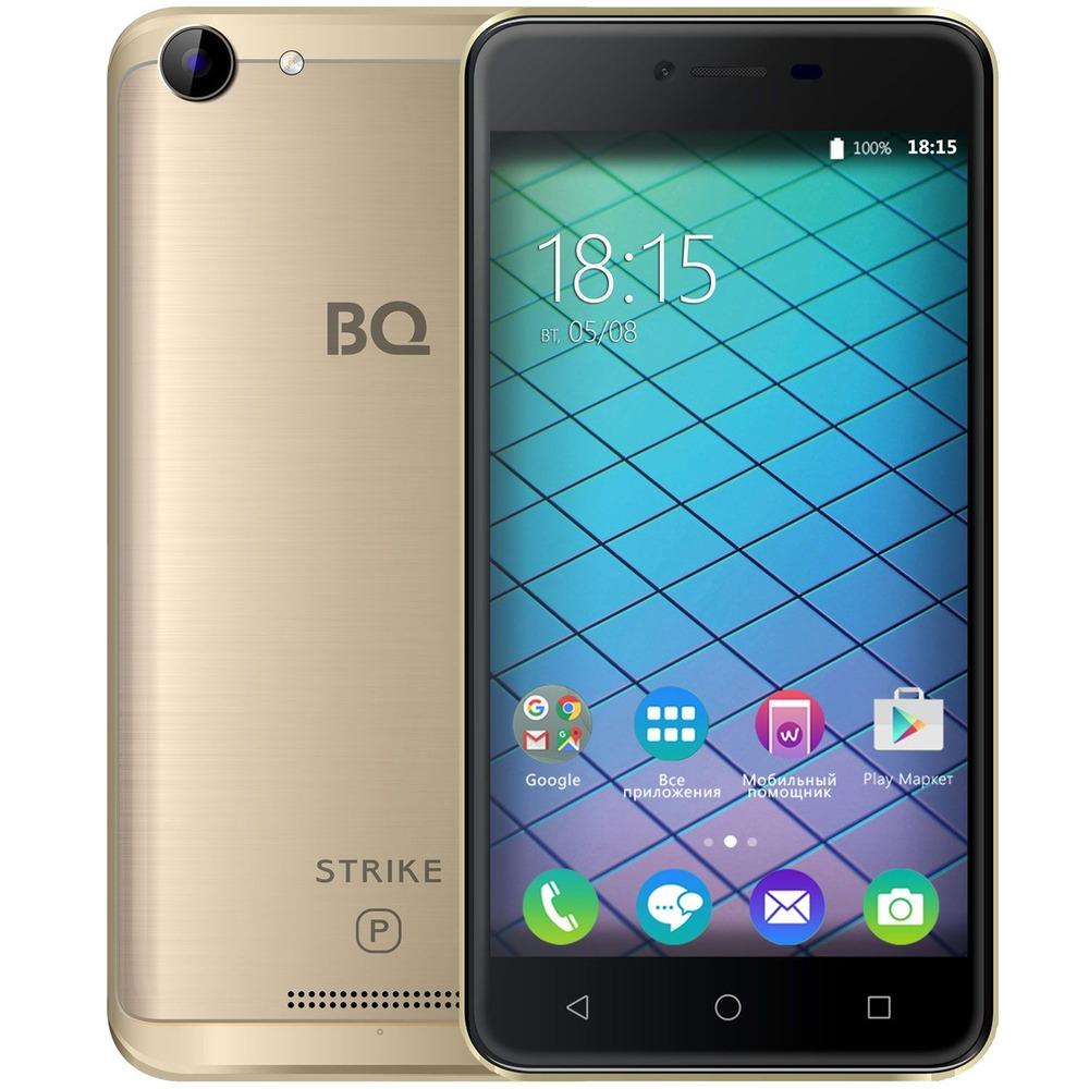 Смартфон BQ 5059 Strike Power золотой - фото 1
