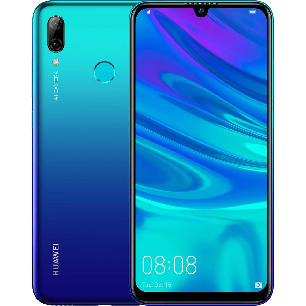 Смартфон Huawei P Smart 2019 ярко-голубой - фото 1