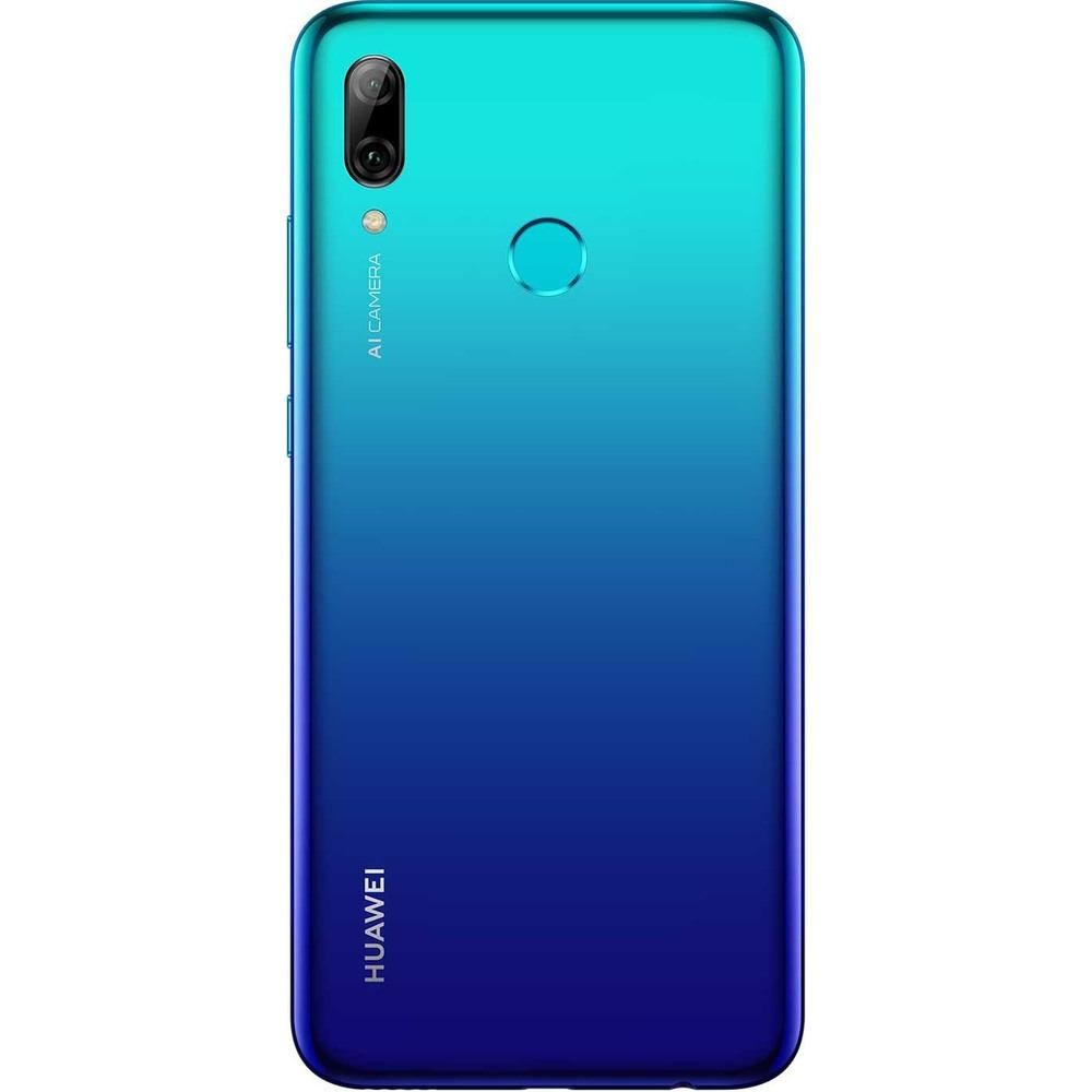 Смартфон Huawei P Smart 2019 ярко-голубой - фото 3