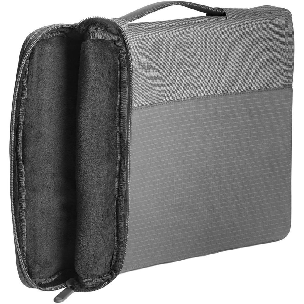 Сумка HP Crosshatch Carry Sleeve серая (1PD67AA) - фото 2