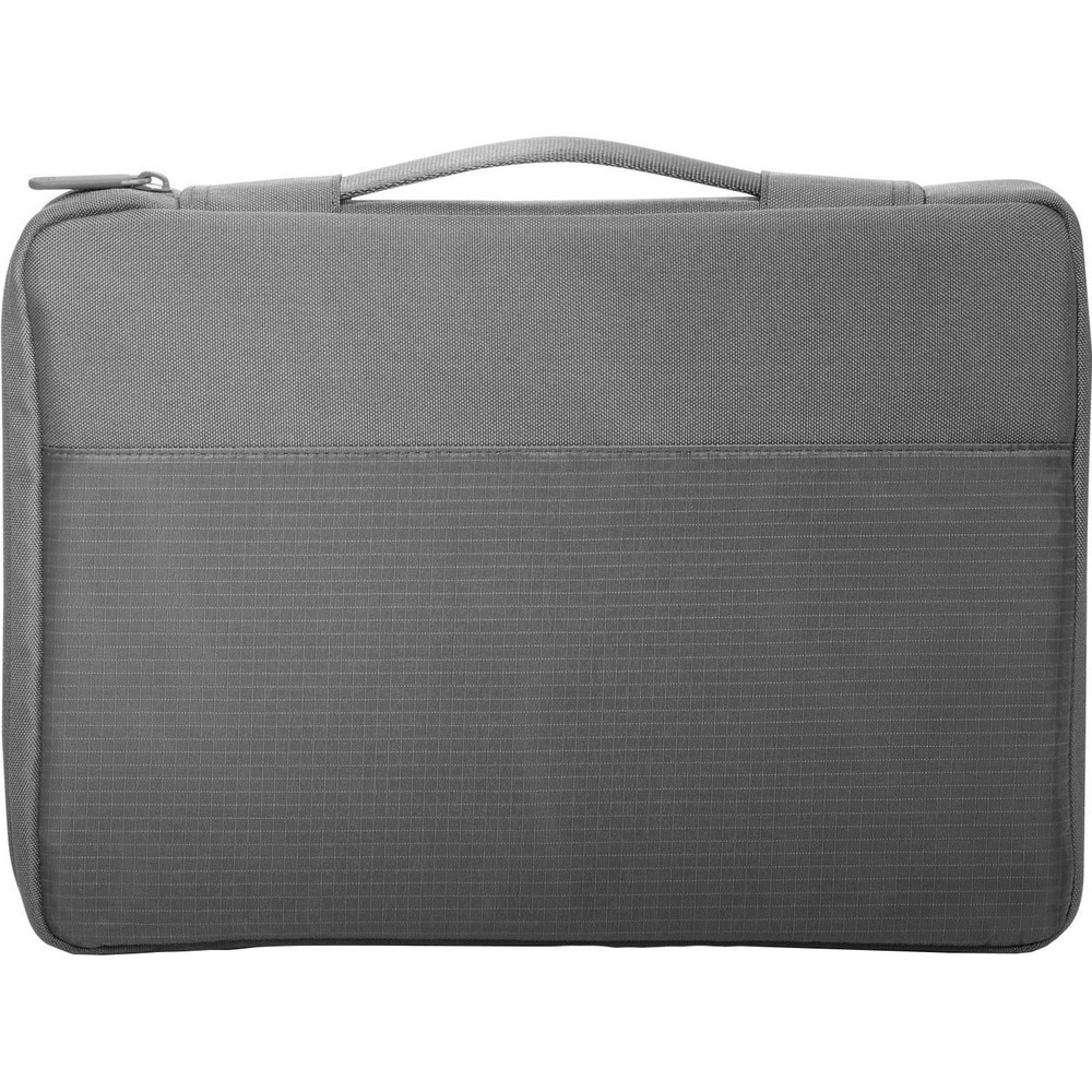 Сумка HP Crosshatch Carry Sleeve серая (1PD67AA) - фото 3