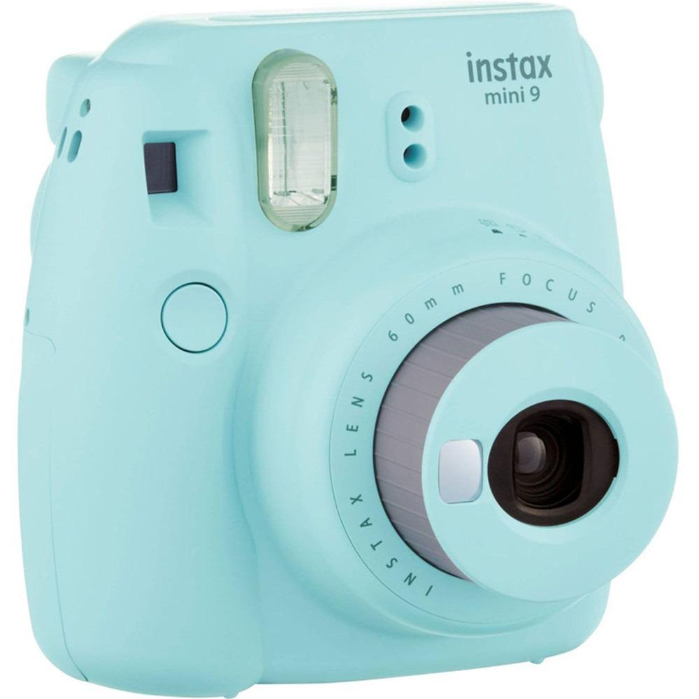 Фотоаппарат мгновенной печати Fujifilm Instax Mini 9 Ice Blue - фото 3