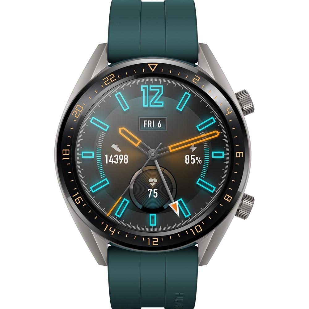 Смарт-часы Huawei Watch GT Active Green (FTN-B19) - фото 2