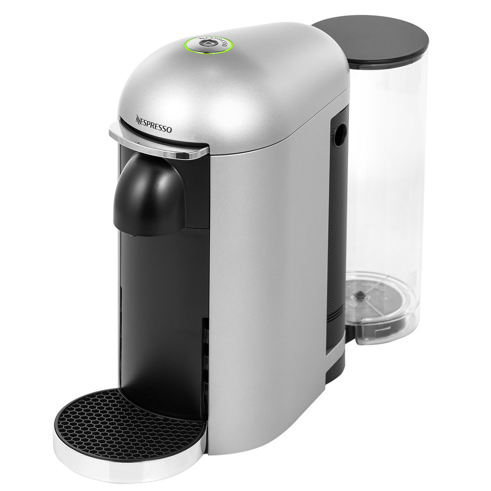Капсульная кофемашина Nespresso Vertuo Plus C GCB2 EU Silver - фото 1