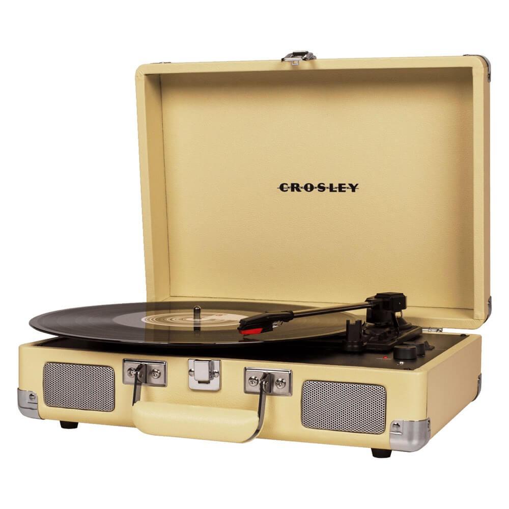 Проигрыватель виниловых пластинок Crosley Cruiser Deluxe CR8005D-FW Bluetooth - фото 1