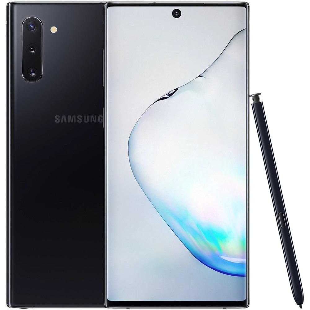 Смартфон Samsung Galaxy Note10 256 ГБ чёрный - фото 1