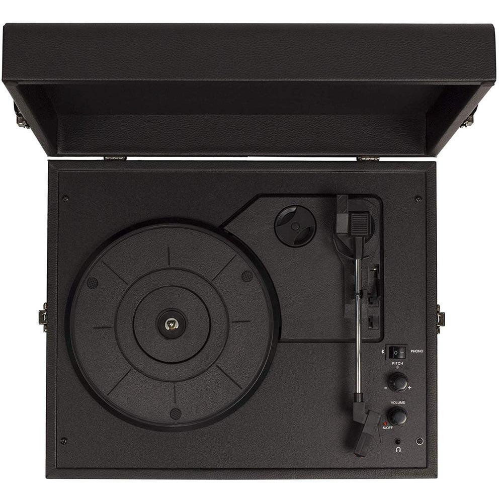 Проигрыватель виниловых пластинок Crosley Voyager CR8017A-BK - фото 3