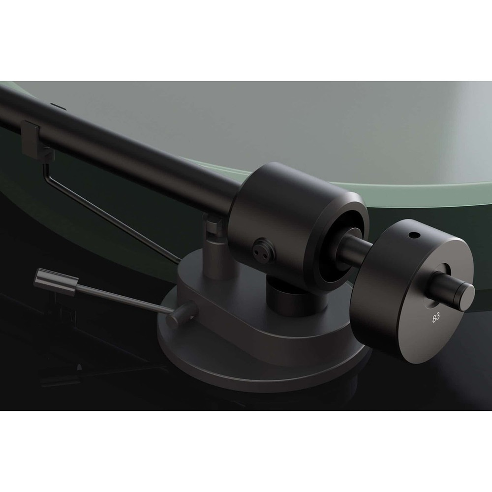 Проигрыватель виниловых пластинок Pro-Ject T1 (OM 5E) Piano Black - фото 4