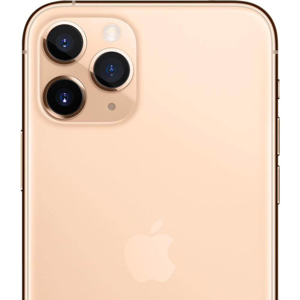 Смартфон Apple iPhone 11 Pro 256GB золотой - фото 4