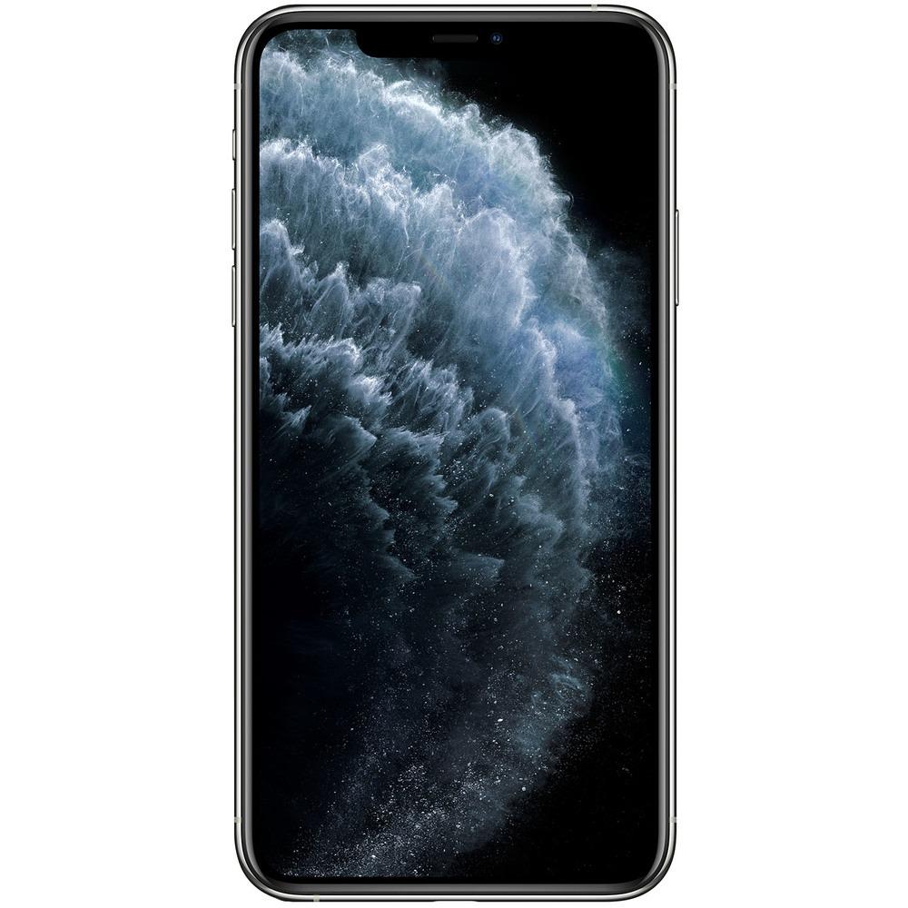 Смартфон Apple iPhone 11 Pro Max 256GB серебристый - фото 2