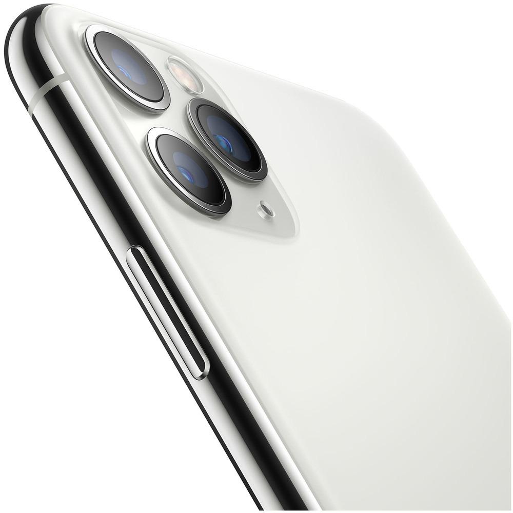 Смартфон Apple iPhone 11 Pro Max 256GB серебристый - фото 5