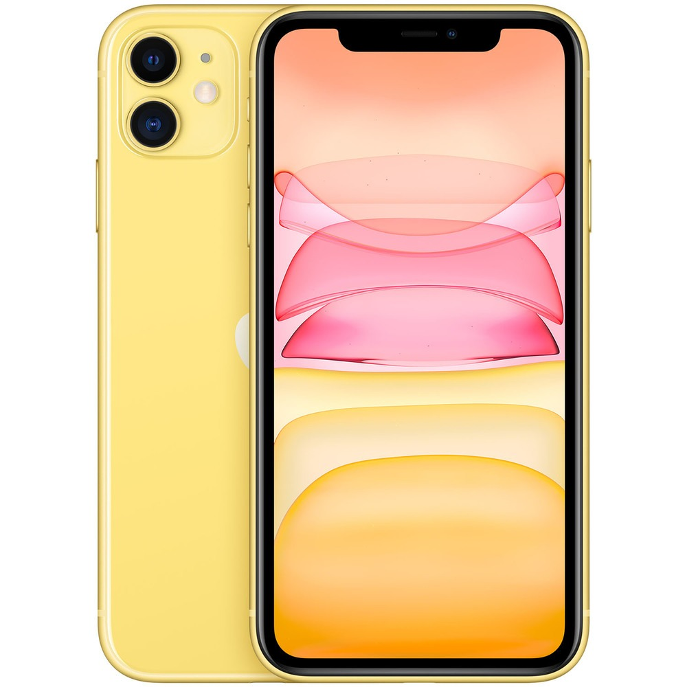 Смартфон Apple iPhone 11 256GB желтый - фото 1