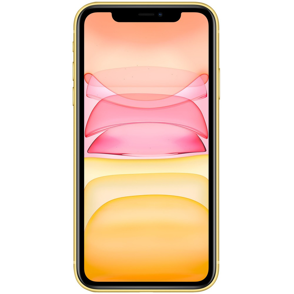 Смартфон Apple iPhone 11 256GB желтый - фото 2