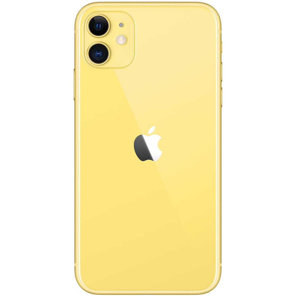 Смартфон Apple iPhone 11 256GB желтый - фото 3