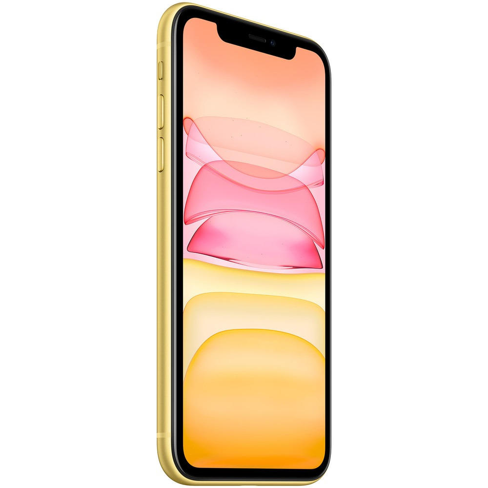 Смартфон Apple iPhone 11 256GB желтый - фото 4