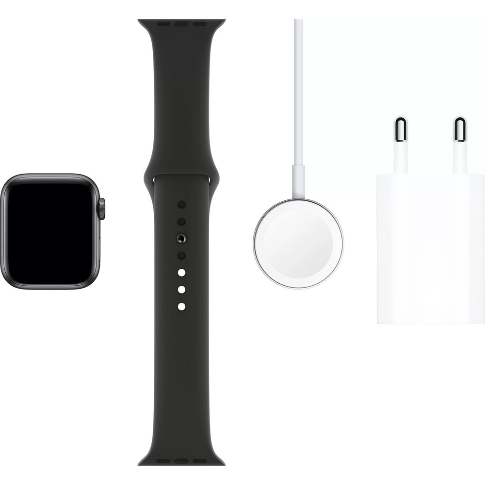 Смарт-часы Apple Watch Series 5 40 мм серый космос, спортивный ремешок - фото 6