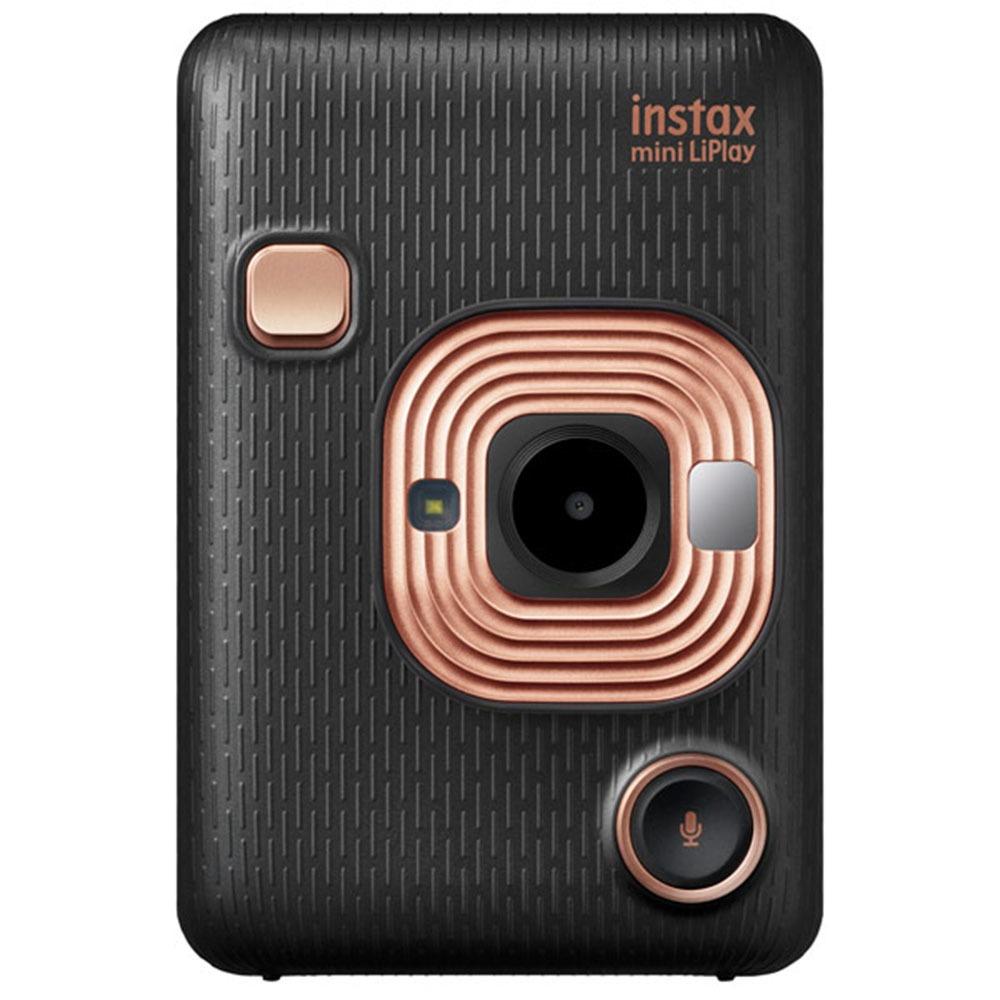 Фотоаппарат мгновенной печати Fujifilm Instax Mini LiPlay Elegant Black - фото 1