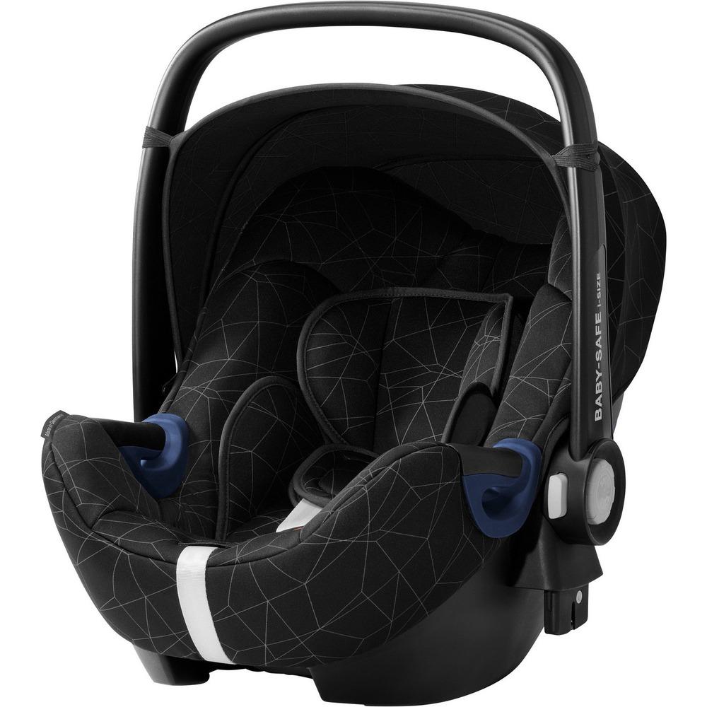 Детское автокресло Britax Roemer Baby-Safe2 i-Size Crystal Black + база FLEX - фото 1