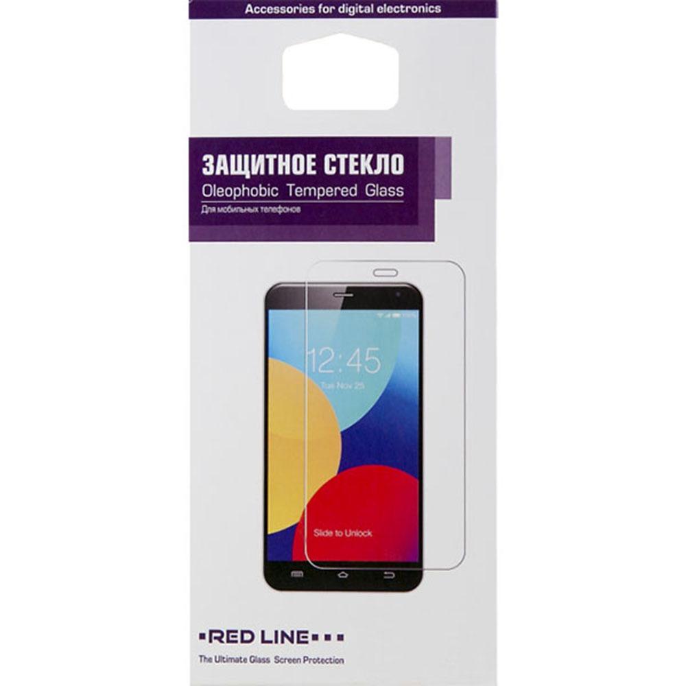 Защитное стекло Red Line для Vivo V17 Neo tempered glass, черный - фото 1